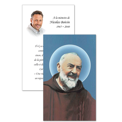 Cartes de prières (SOD)